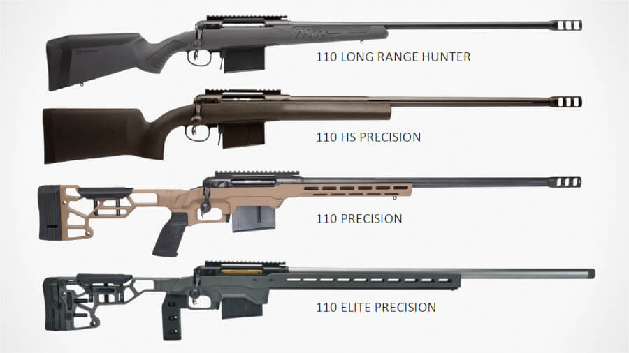 Savage Embracing 300 PRC with Four New 110 Rifles at Four Price Points
