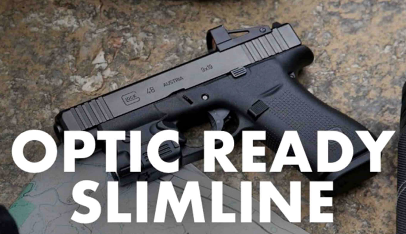 Glock Adds Rail to Slimline Pistols, Now Optics-Ready, Too