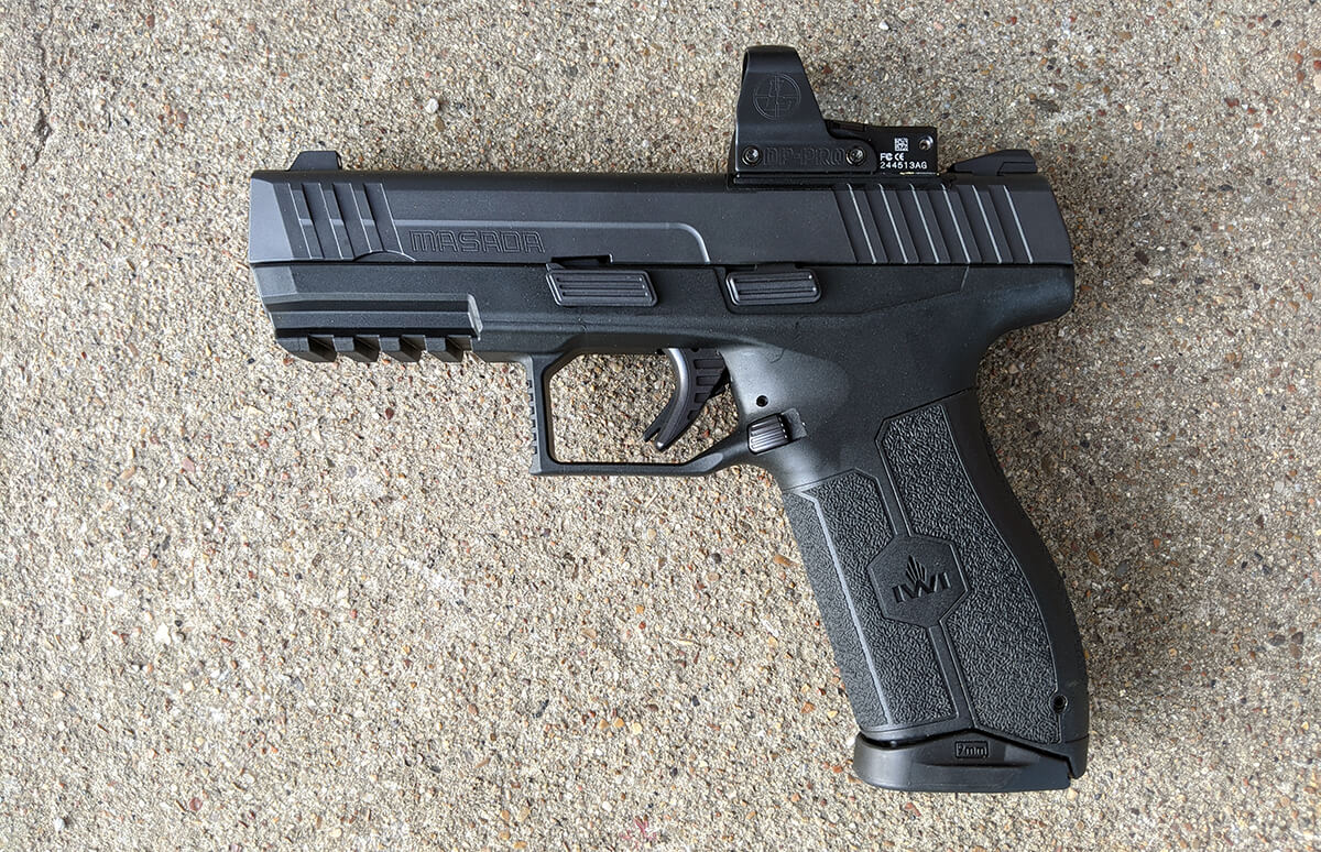 Is the IWI Masada the Sig P320 Killer? Not Quite Yet (But Maybe Soon)
