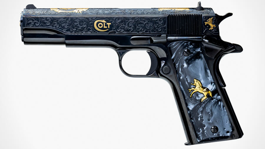 Colt and Baron Team with Davidson's for Sam Colt Limited Edition 1911