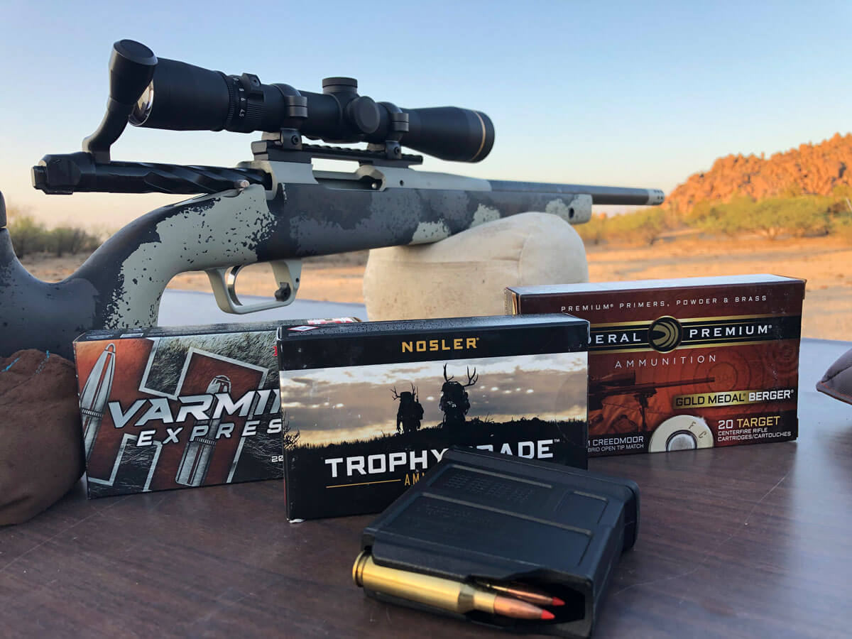 .75 MOA Guarantee from Springfield Armory's All-New Bolt-Action 2020 Waypoint  – Review