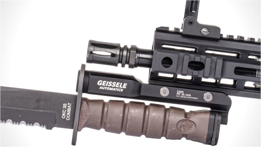 Get Up Close and Personal with the Geissele Super Stabby Bayonet Mount