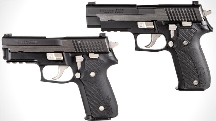 SIG Custom Works Debuts P226 and P229 Equinox Classics