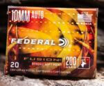Federal Ammunition Introduces New Fusion 10mm Auto Hunting Loads
