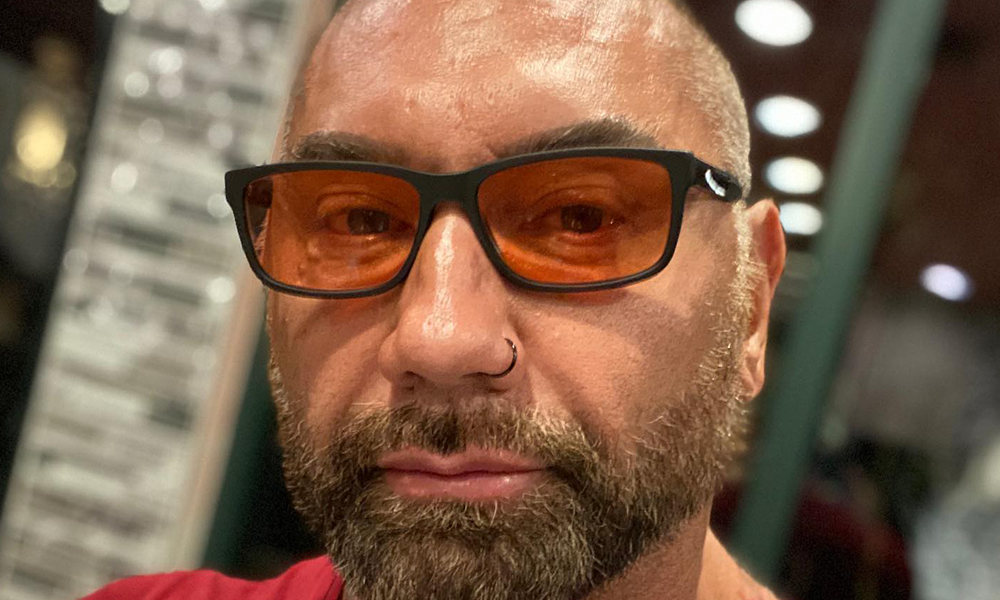 Dave Bautista Defends Biden's Record on Guns, Calls People 'Idiots' For Using AR-15 for Self-Defense