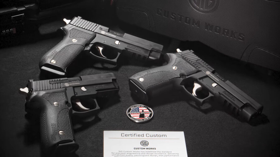 SIG Sauer Says 'The Nightmare is Back' with Three P-Series Classics