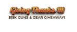 Giving Thanks III $15K Guns & Gear Giveaway (127 Winners)!
