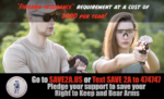 CCRKBA Launches 'Save2A' National TV AD Warning About H.R. 127 Univeral Registration & Licensing