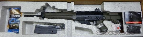 Sig 556 w/ RARE Green Furniture  Guns > Rifles > Sig - Sauer/Sigarms Rifles