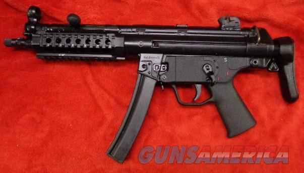 HK MP5-A3 - registered receiver   Guns > Rifles > Class 3 Rifles > Class 3 Subguns