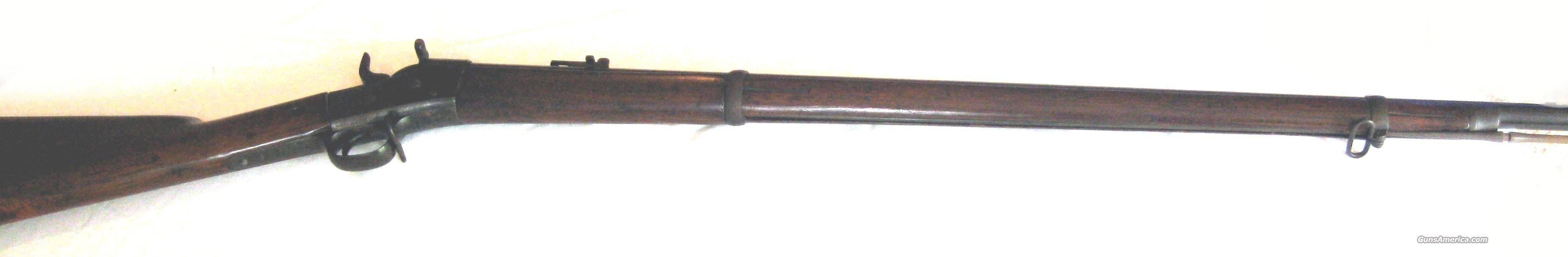 Springfield 1872 50.70 Caliber Rolling Block  Guns > Rifles > United States Patent Firearms Rifles