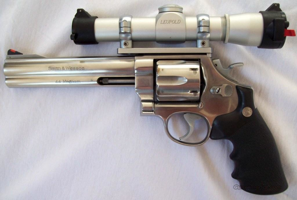 "Smith & Wesson 629-3 Classic 6.5"" with 2x Leupold scope  Guns > Pistols > Smith & Wesson Revolvers > Model 629"