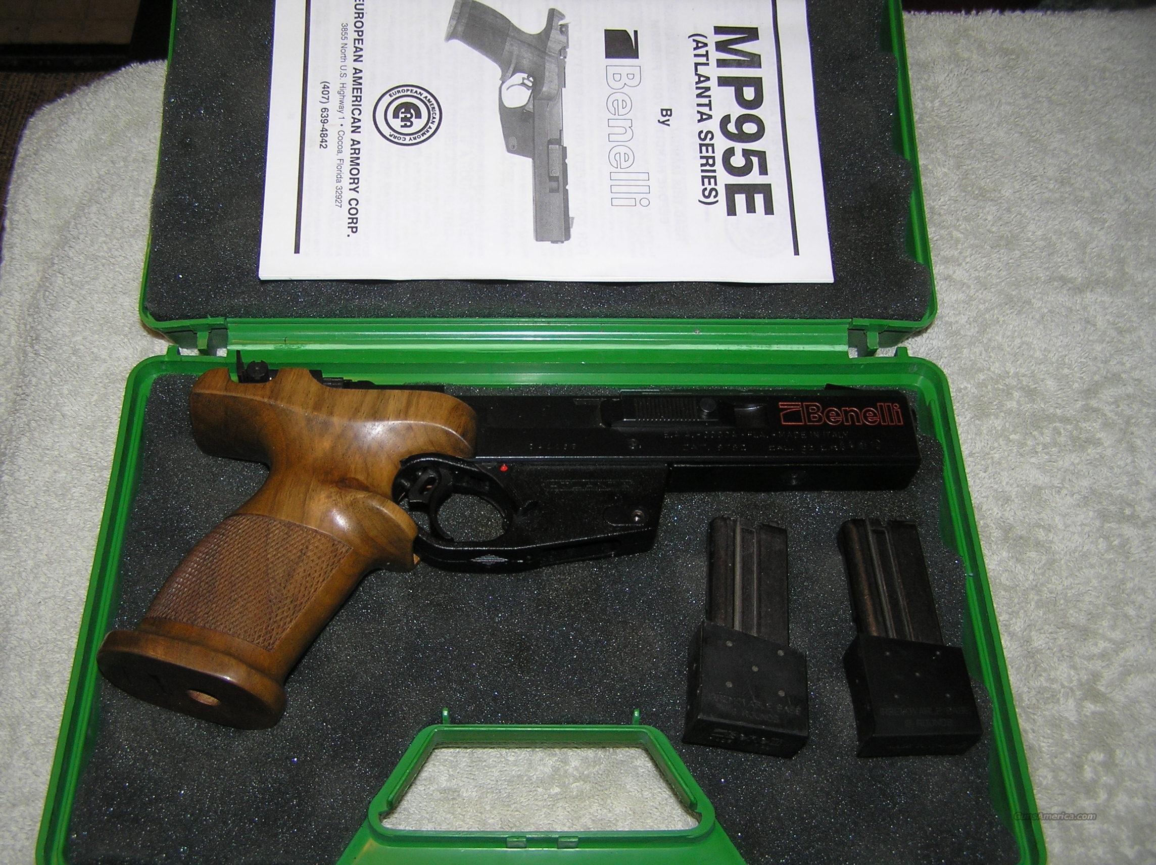 Benelli mp95e atlanta series rimfire guns gt pistols gt benelli pistols