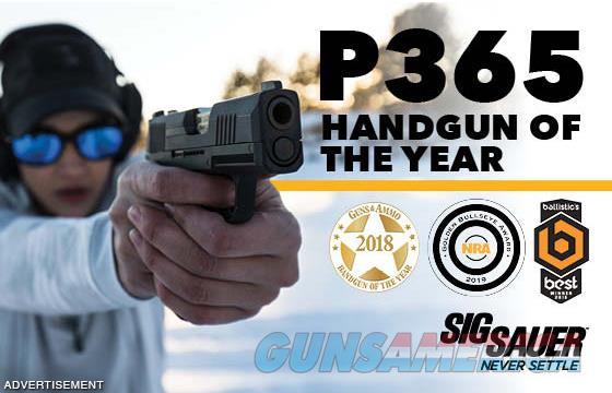 SIG SAUER P365 9MM    Guns > Pistols > Sig - Sauer/Sigarms Pistols > P365
