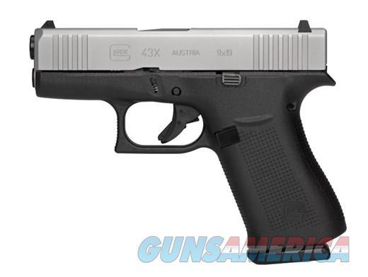 GLOCK G43X 9MM W / 3 MAGS  Guns > Pistols > Glock Pistols > 43/43X