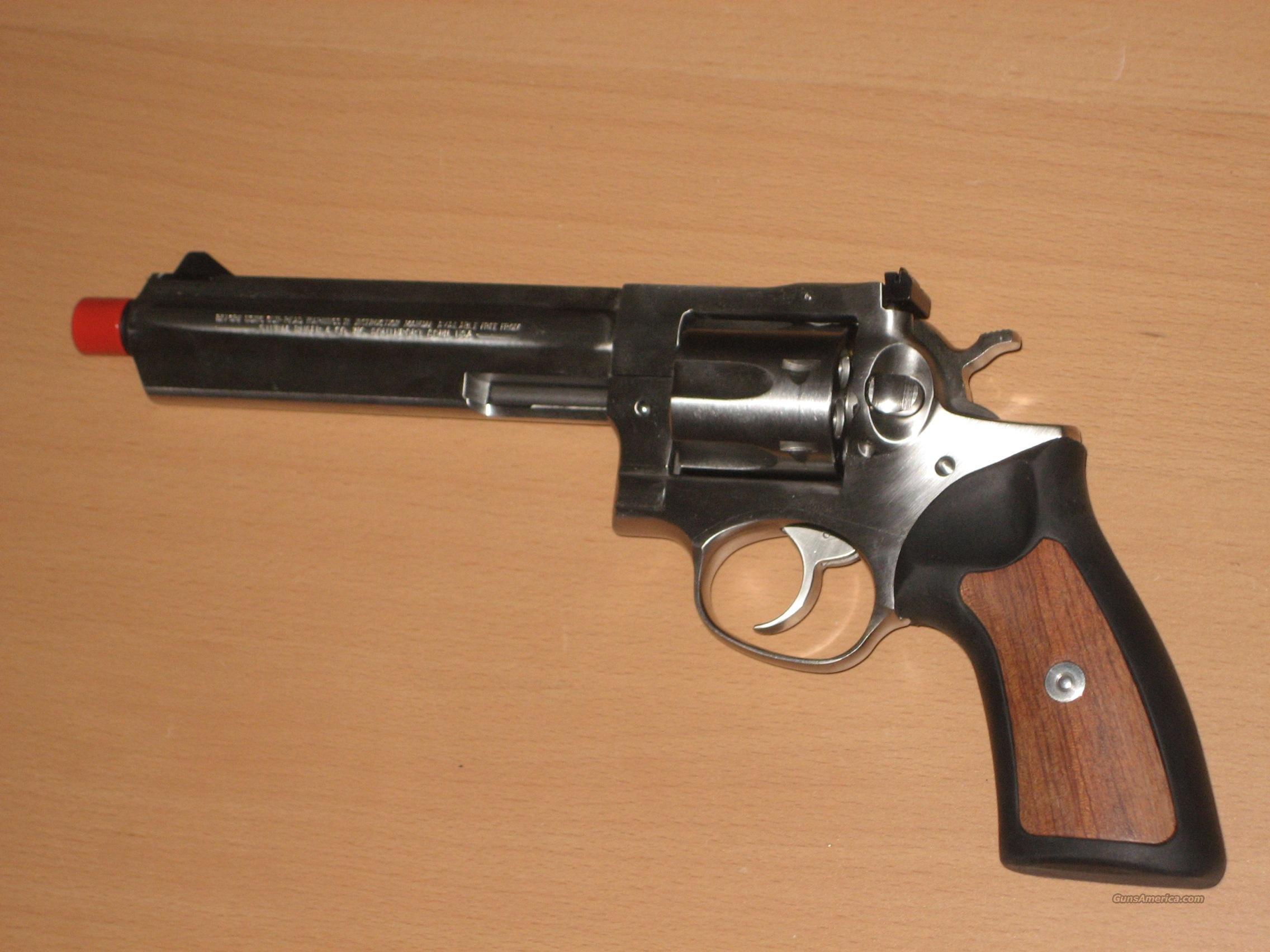 "Ruger GP100, 6 shot, 6"" Barrel - As New  Guns > Pistols > Ruger Double Action Revolver > Security Six Type"