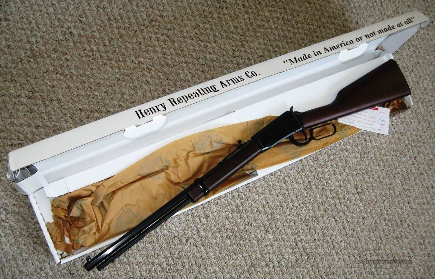 Henry Lever Action  Octogon 22LR - NIB  Guns > Rifles > Henry Rifle Company