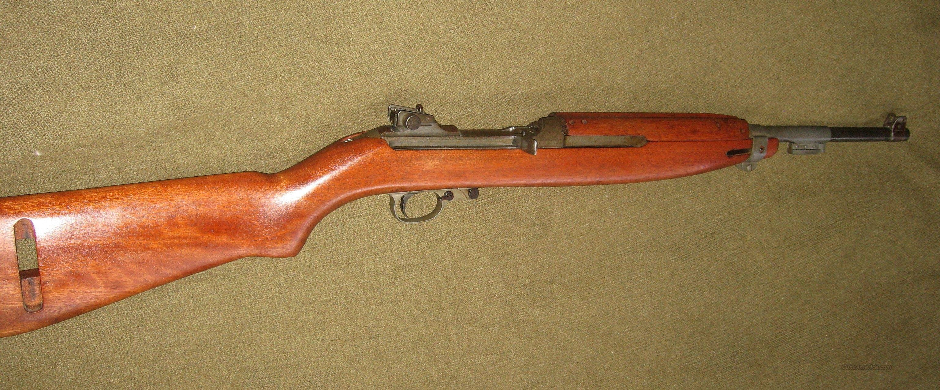 M1 carbine, Winchester 6.53M Late model M-1  Guns > Rifles > Military Misc. Rifles US > M1 Carbine
