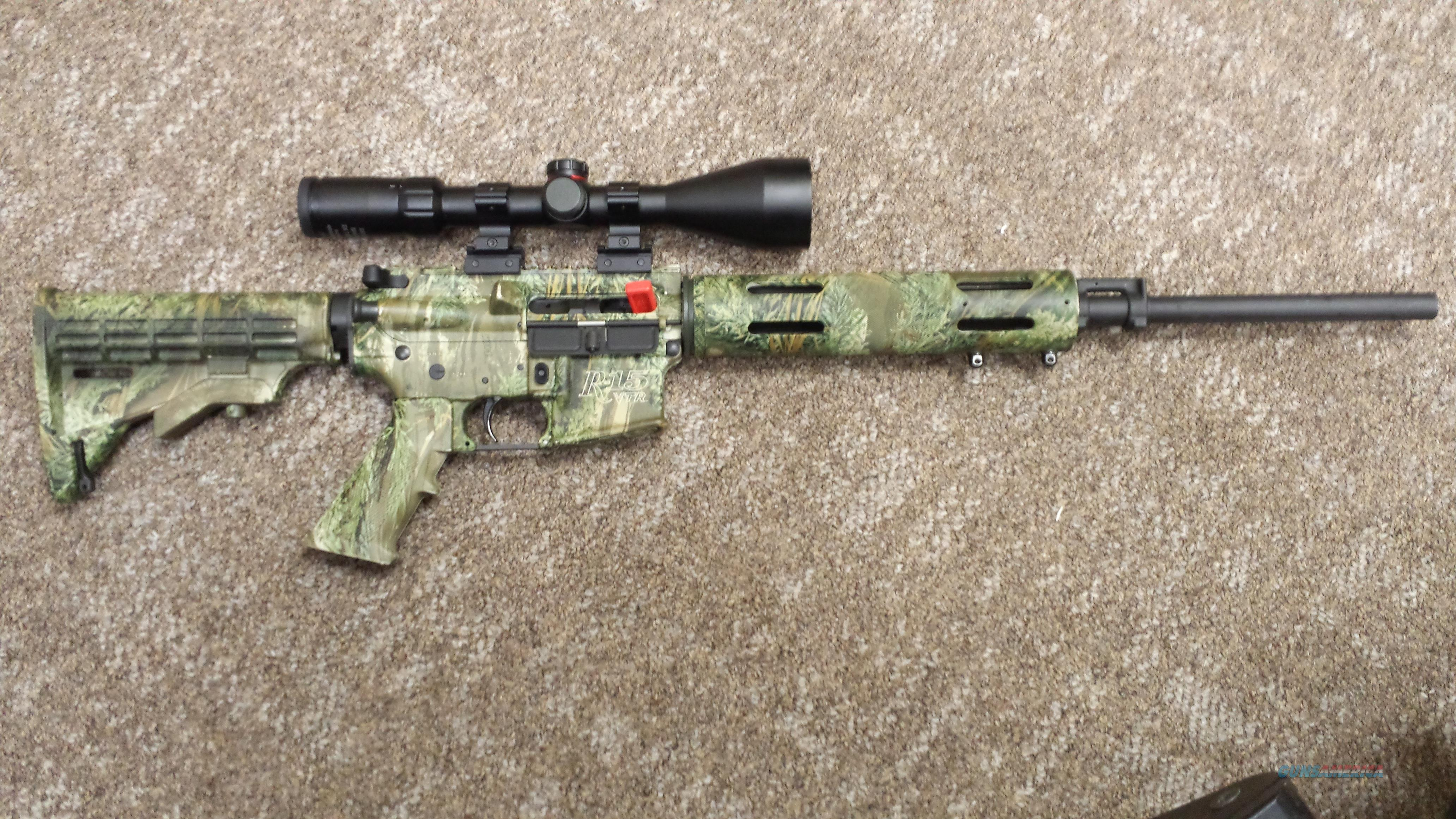 REMINGTON R-15 VTR RIFLE Varmint Special .223 Caliber Realtree Camo  Guns > Rifles > Remington Rifles - Modern > AR-15 Platform