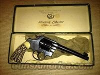 Colt Shooting Master .38 Special  Colt Double Action Revolvers- Pre-1945