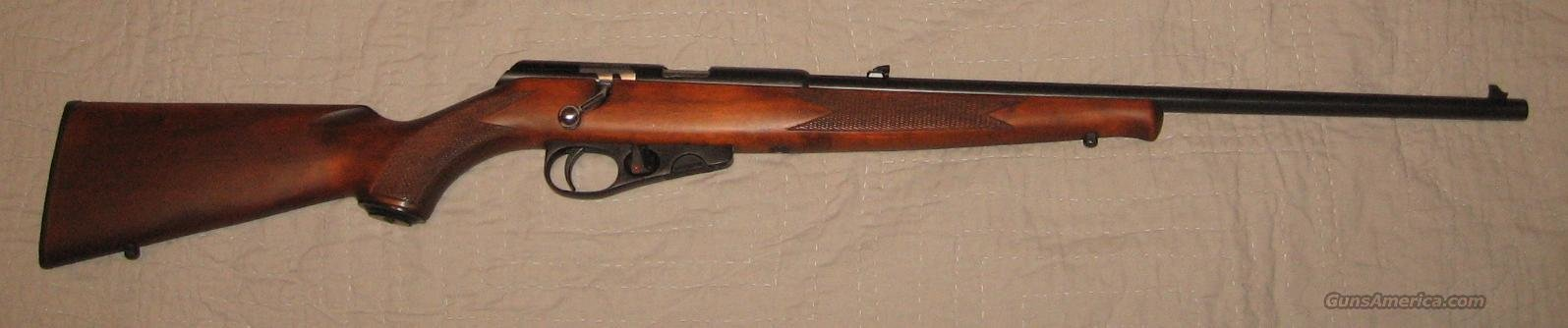 Winchester Wildcat 22 LR, blued/wood  Guns > Rifles > Winchester Rifles - Modern Bolt/Auto/Single > Single Shot