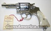 Smith & Wesson Model 10 .38 S&W Nickle Plated  Guns > Pistols > Smith & Wesson Revolvers > Model 10