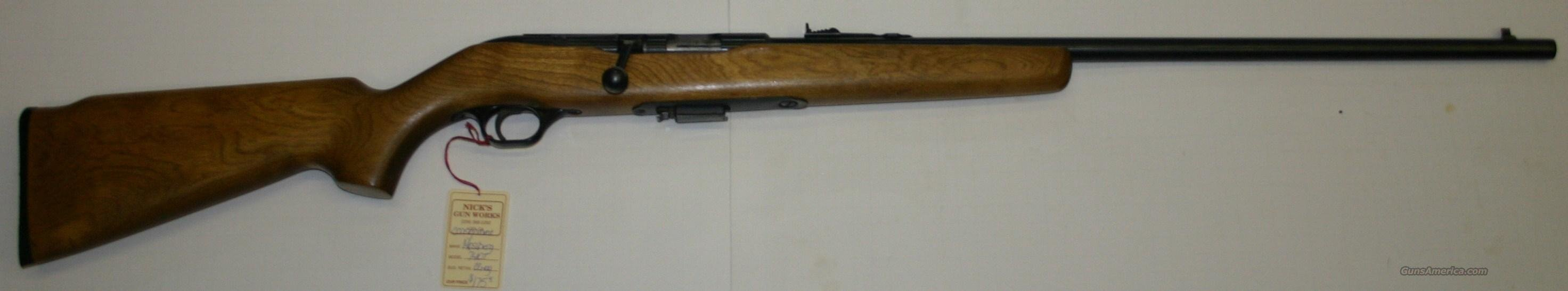 Mossberg 740T .22Mag  Guns > Rifles > Mossberg Rifles > Other Bolt Action
