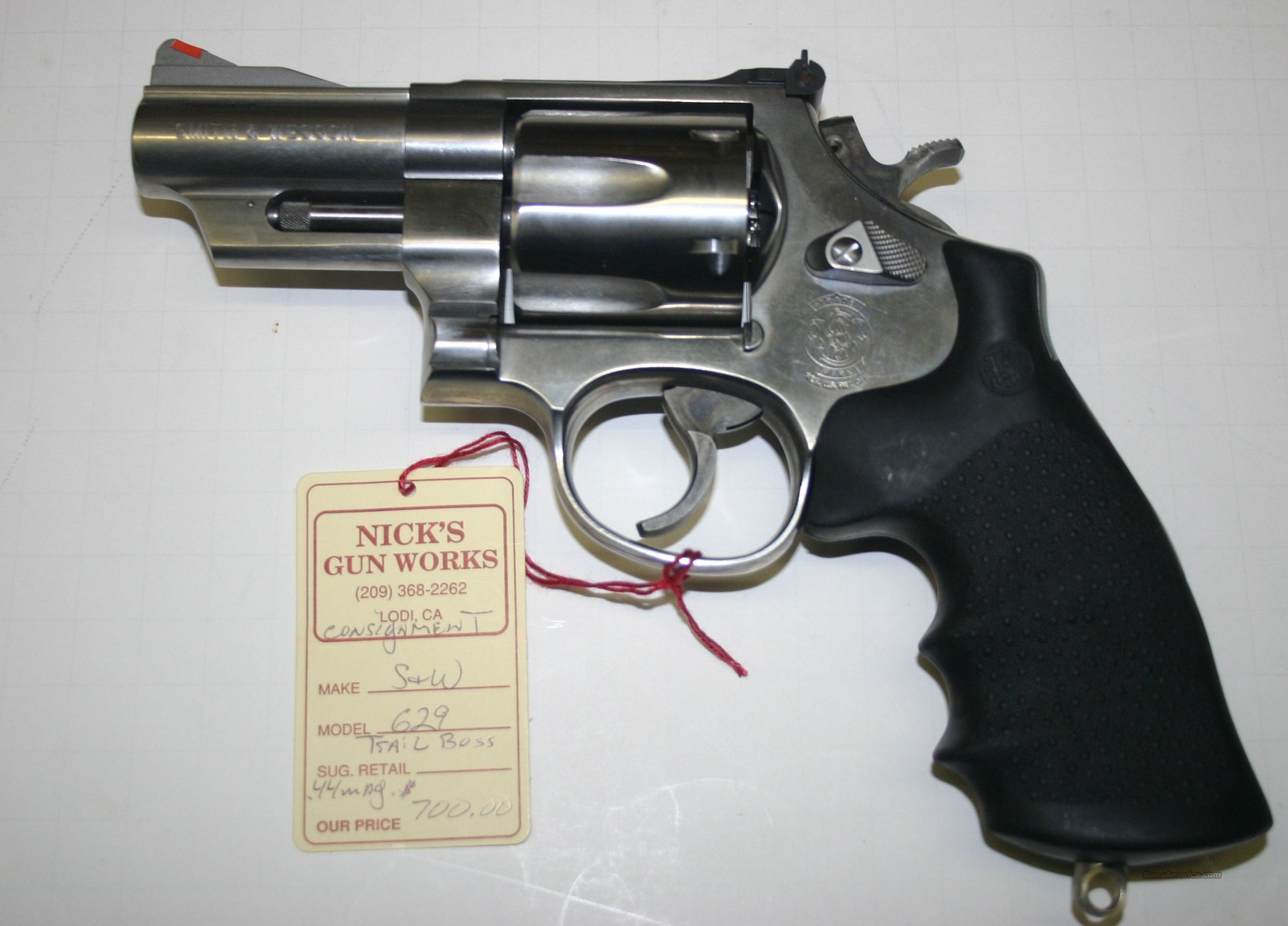 Smith & Wesson M 629 Trail Boss .44 Magnum NIB  Guns > Pistols > Smith & Wesson Revolvers > Model 629
