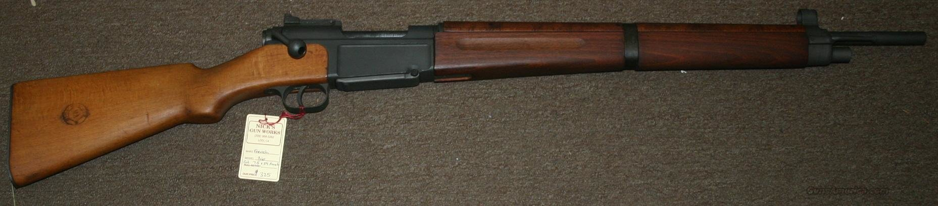 French M 36 7.5 X 54 French Excellent condition  Guns > Rifles > Military Misc. Rifles Non-US > FrenchMAS