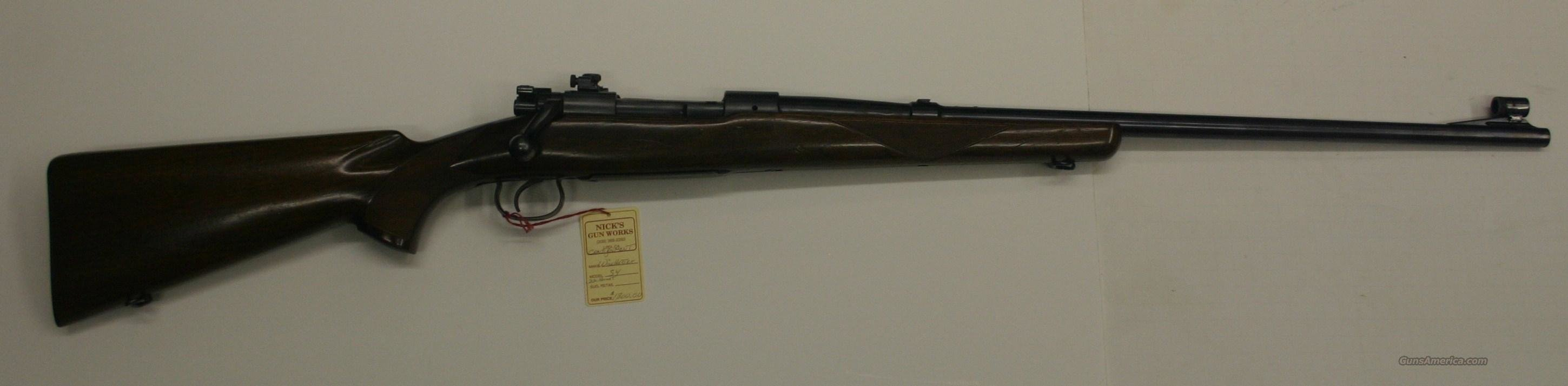 Winchester Model 54 .22 Hornet, Excellent Condition  Guns > Rifles > Winchester Rifles - Modern Bolt/Auto/Single > Other Bolt Action