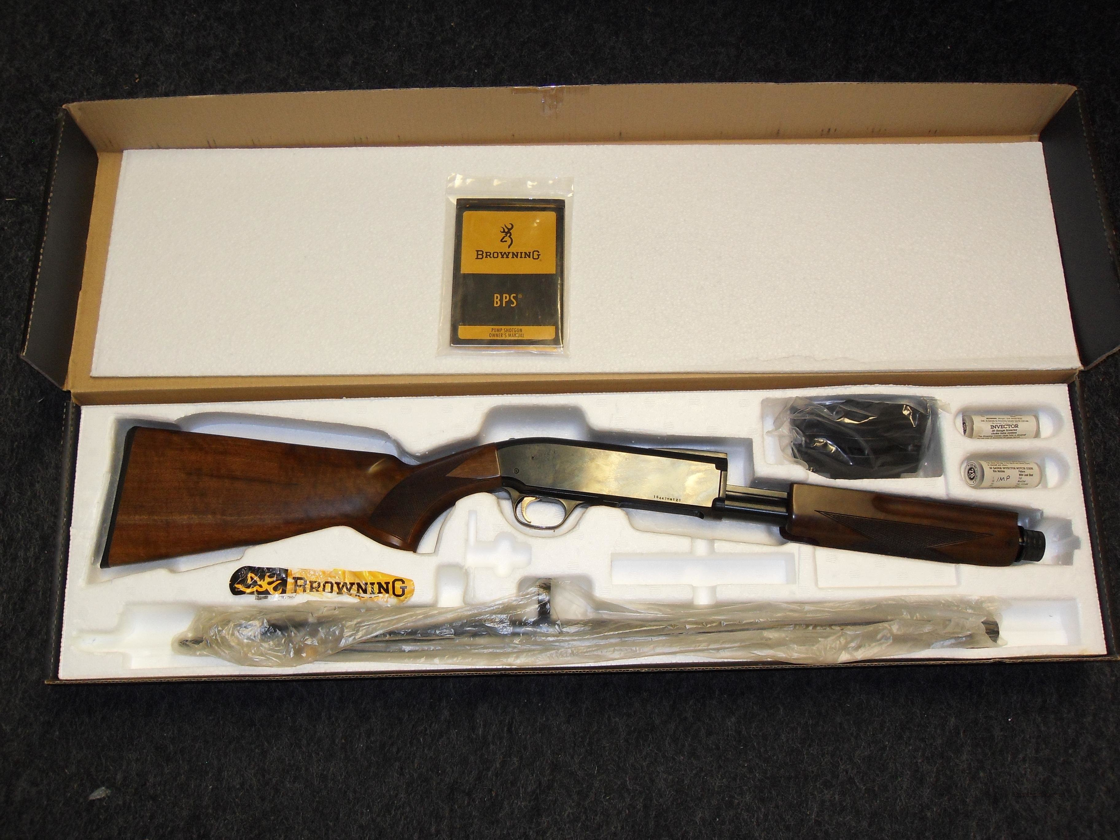 Browning BPS 28 Ga  Guns > Shotguns > Browning Shotguns > Pump Action > Hunting