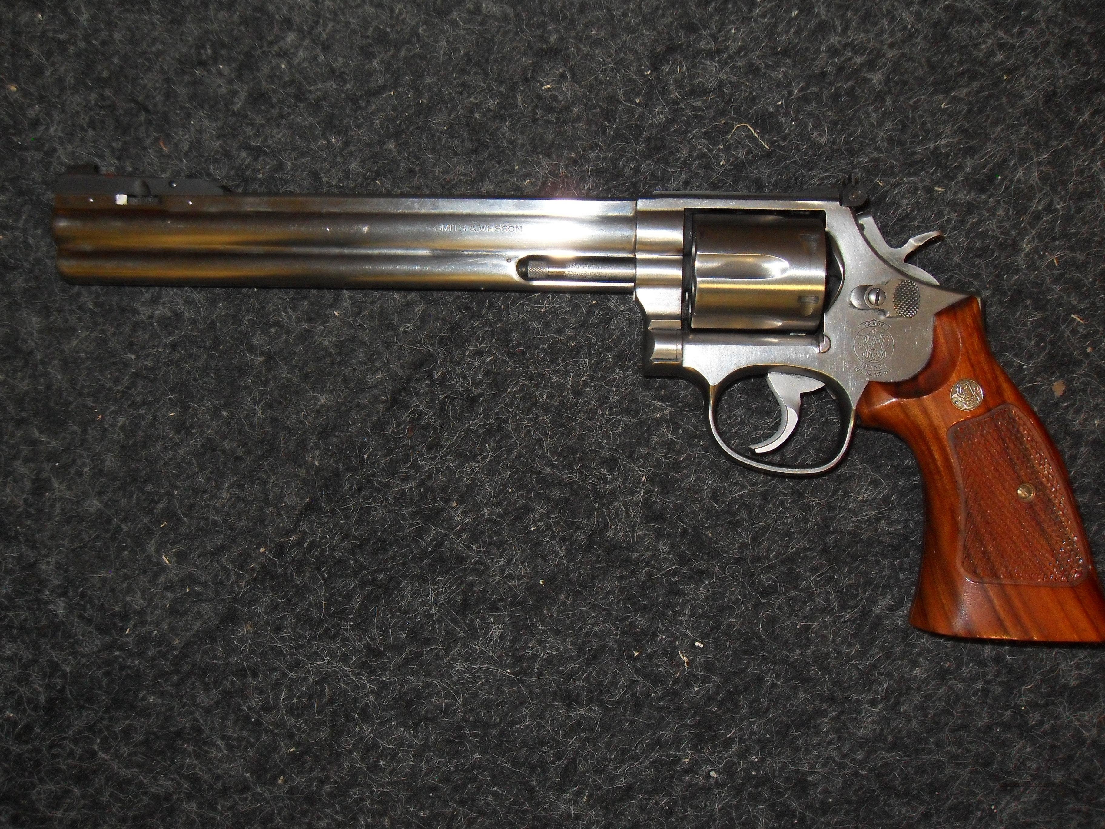 Smith & Wesson 686 Silhouette 8 3/8 AF  Guns > Pistols > Smith & Wesson Revolvers > Full Frame Revolver