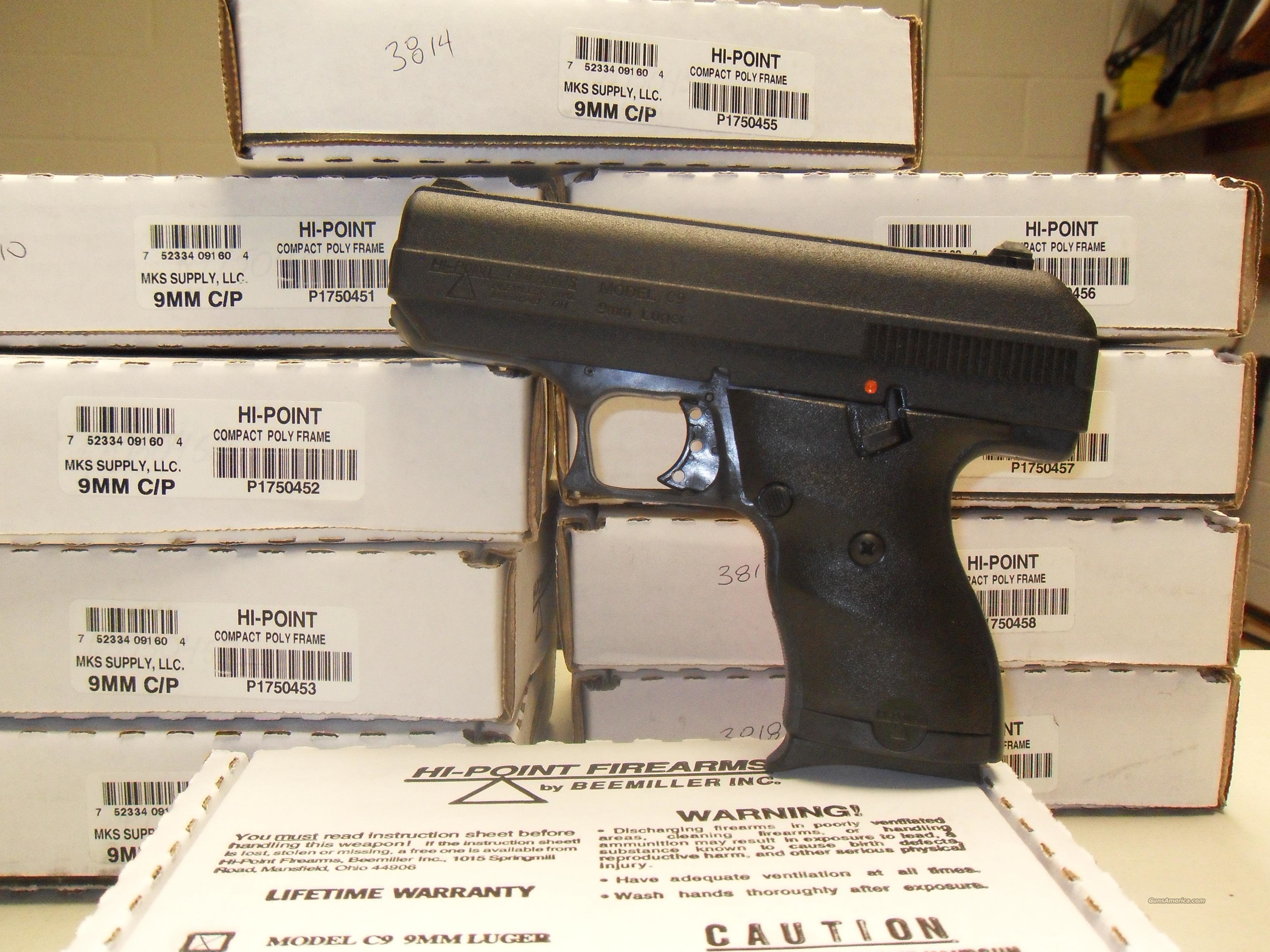 Hi-Point C9  FREE SHIPPING  Guns > Pistols > Hi Point Pistols