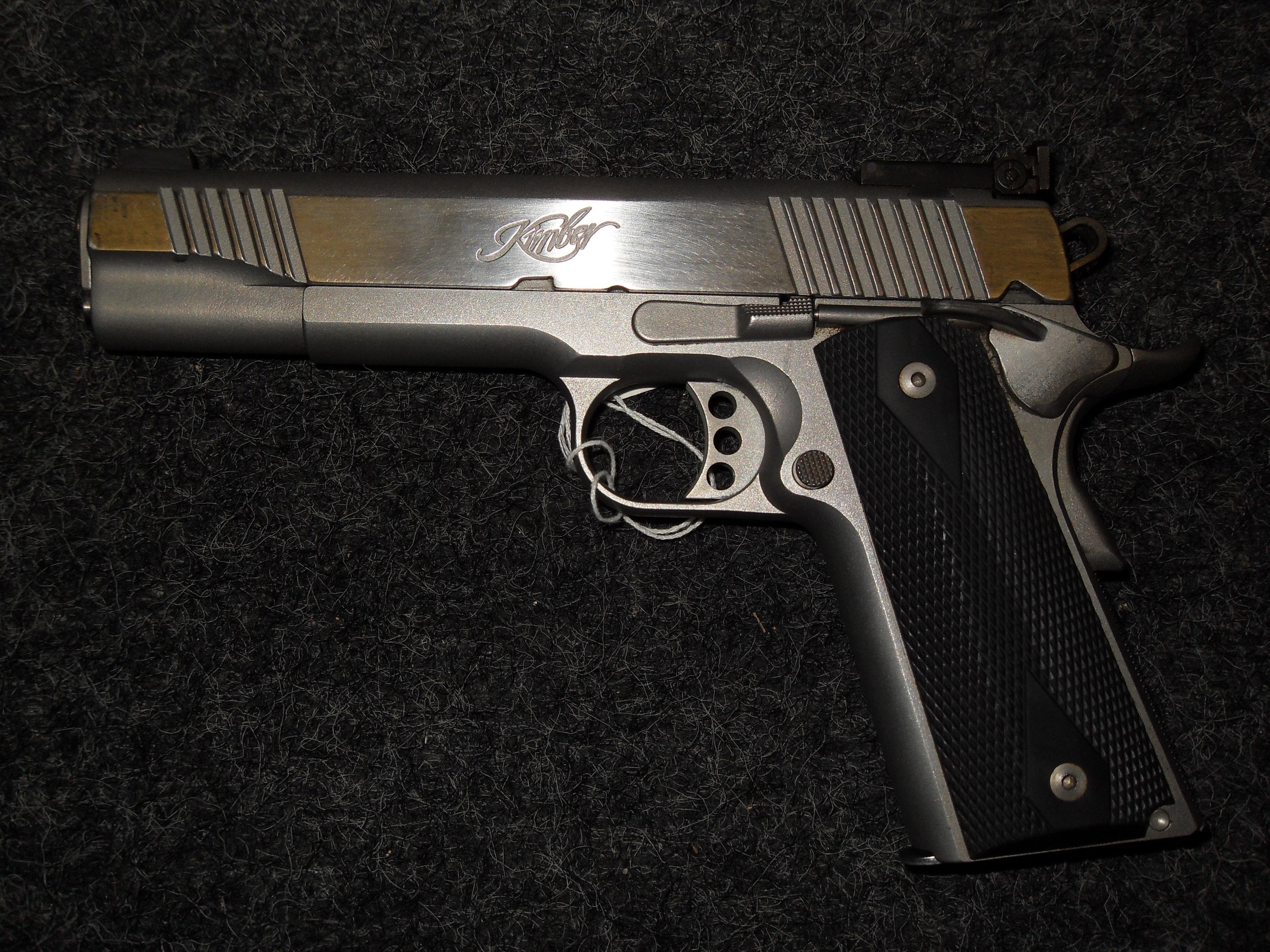 Kimber Classic Stainless Target FREE SHIPPING  Guns > Pistols > Kimber of America Pistols