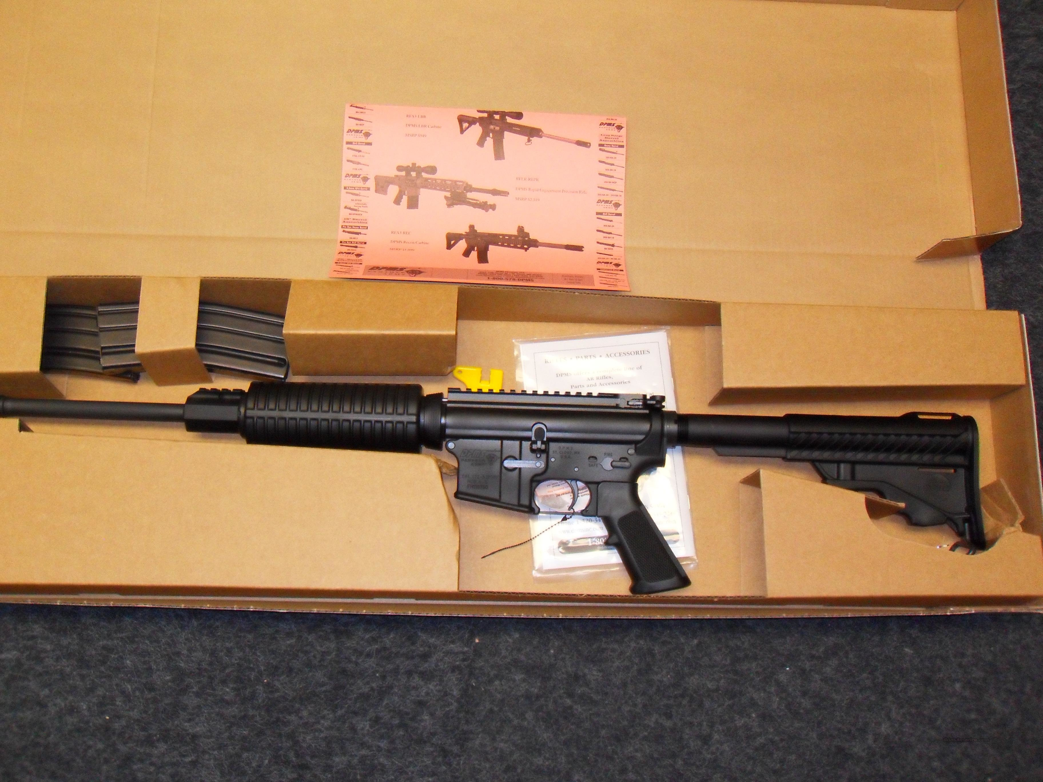 DPMS Sportical Ar-15  5.56/223  NIB    Guns > Rifles > DPMS - Panther Arms > Complete Rifle
