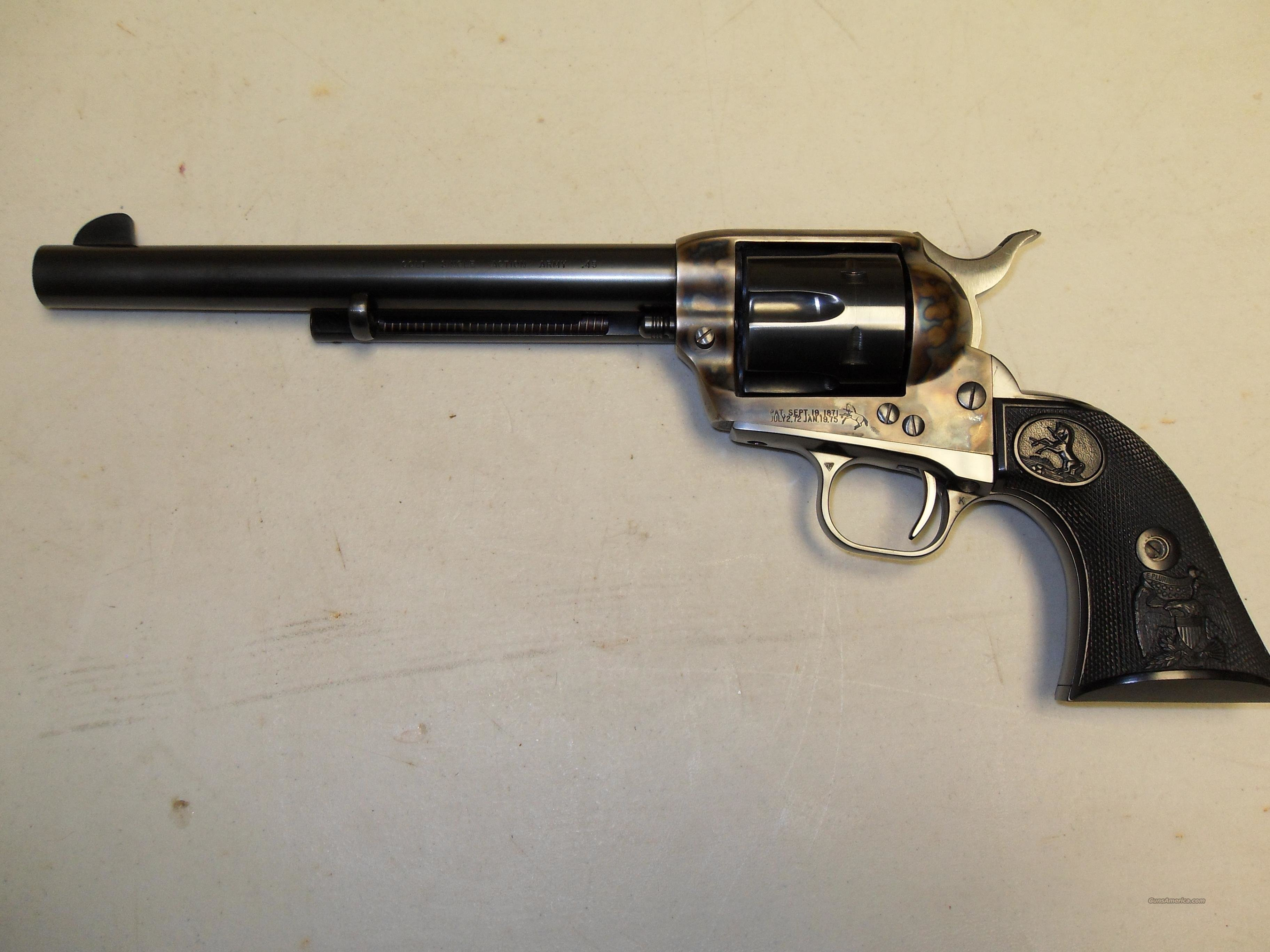Colt Single Action Army  45 LC   Guns > Pistols > Colt Single Action Revolvers - 3rd Gen.