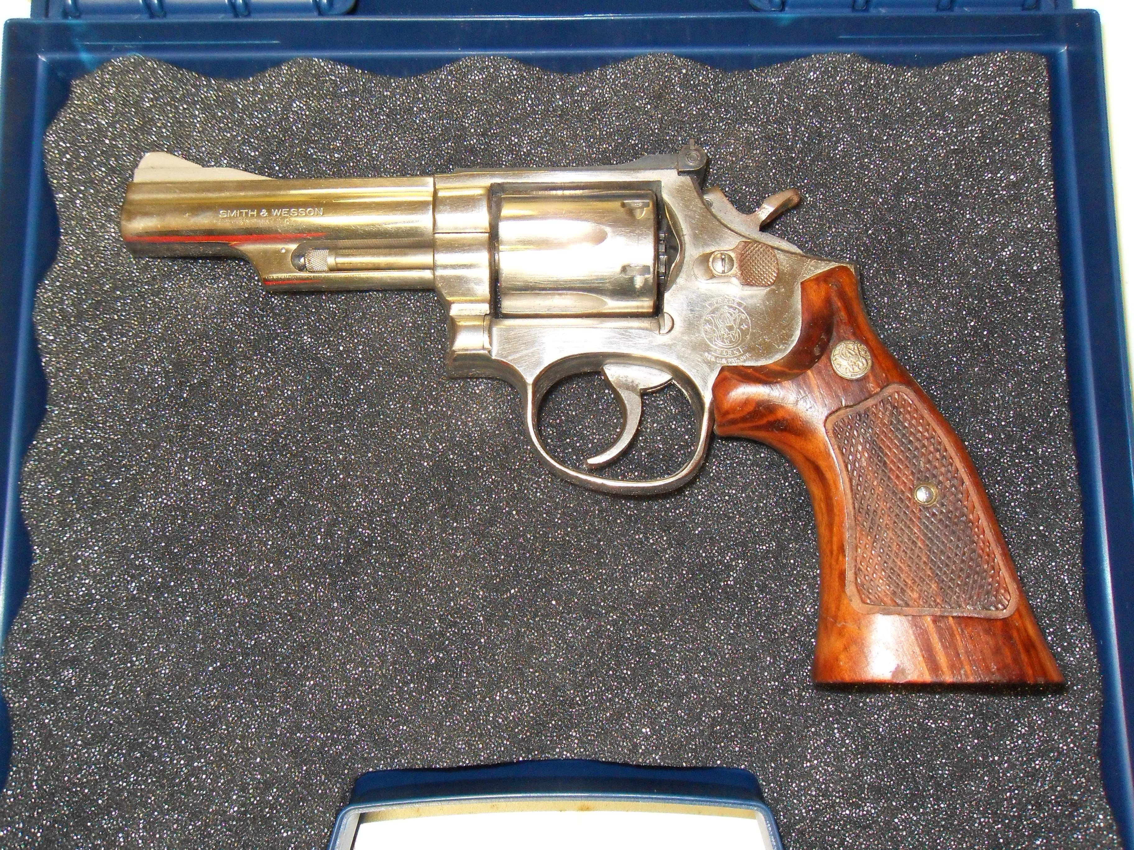 Smith & Wesson 19-5 Nickle  Guns > Pistols > Smith & Wesson Revolvers > Full Frame Revolver