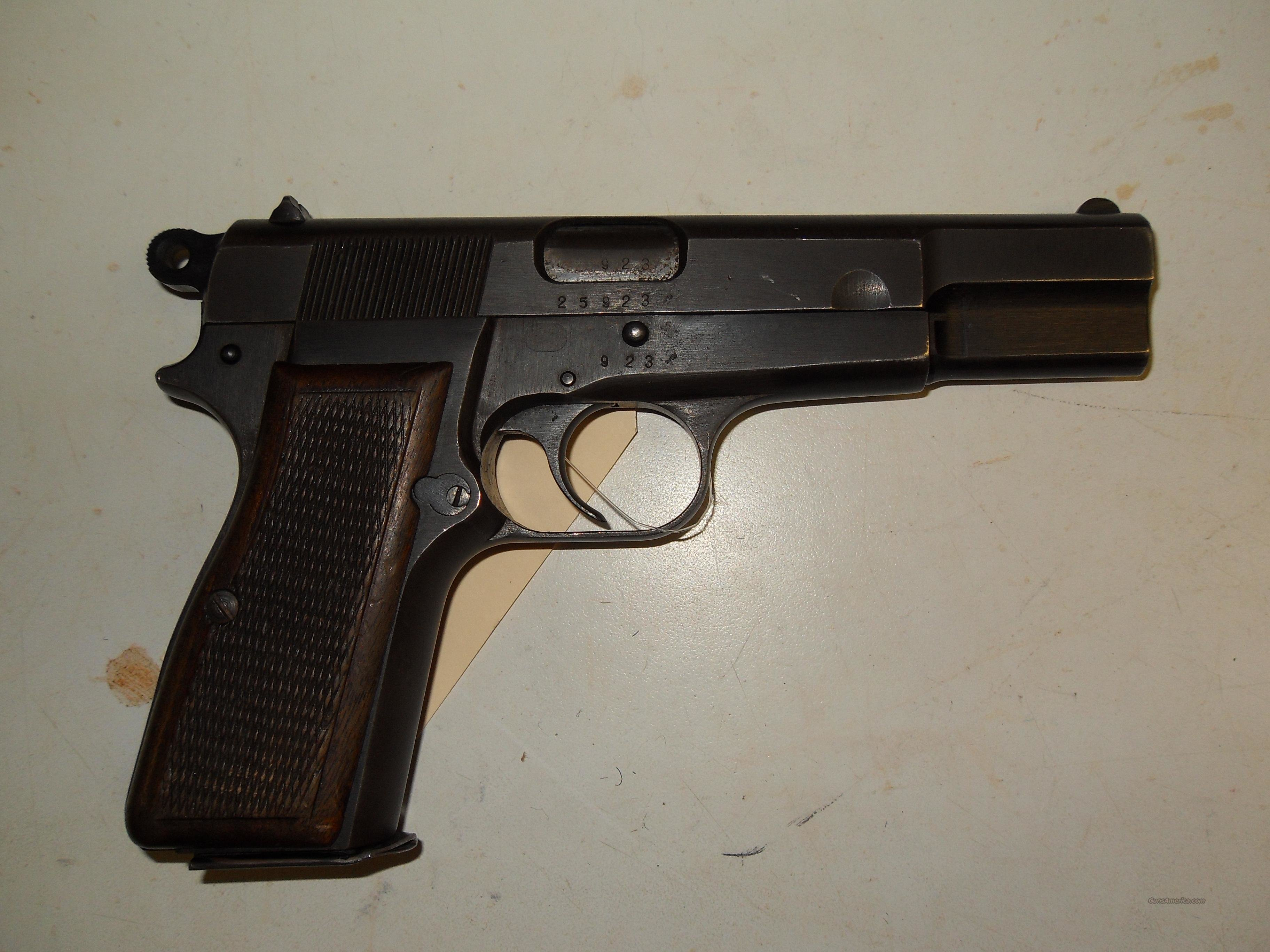 FN  Hi-Power  Browning Design German  Guns > Pistols > FNH - Fabrique Nationale (FN) Pistols > High Power Type