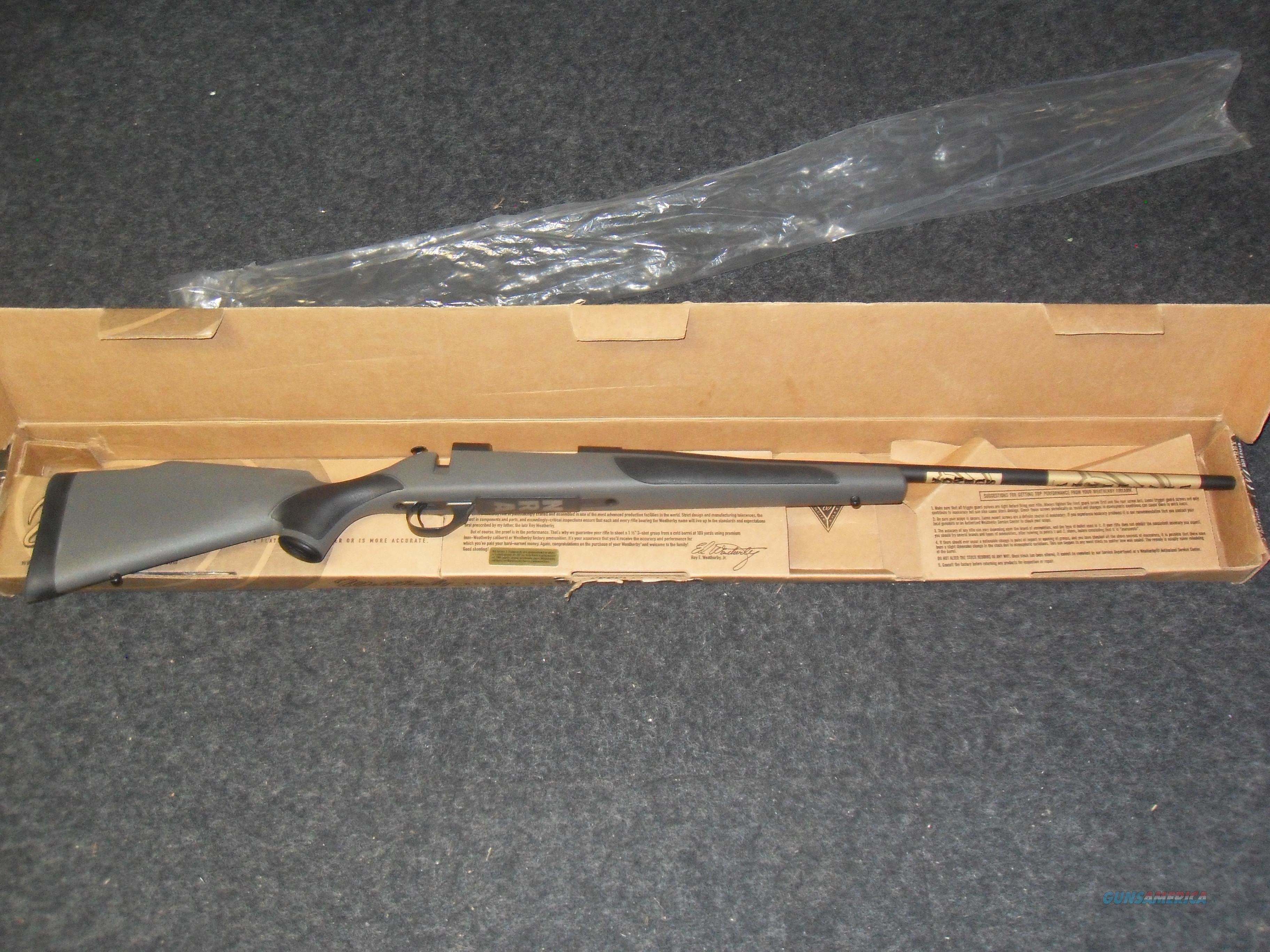 Weatherby Vanguard 300 Weatherby Mag  NRA  Guns > Rifles > Weatherby Rifles > Sporting