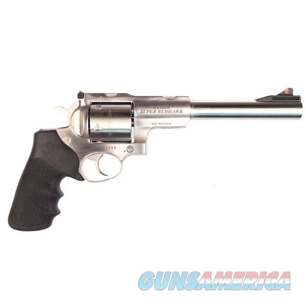 RUGER SUPER REDHAWK 480RUGER Brand New in Box  Guns > Pistols > Ruger Double Action Revolver > Redhawk Type