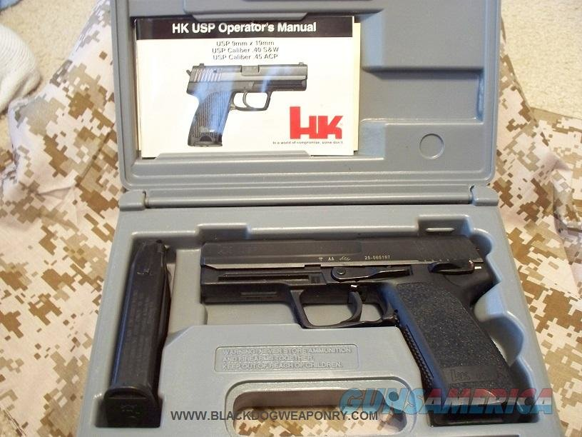 HK USP 45 Night Sights Immaculate  Guns > Pistols > Heckler & Koch Pistols > Polymer Frame