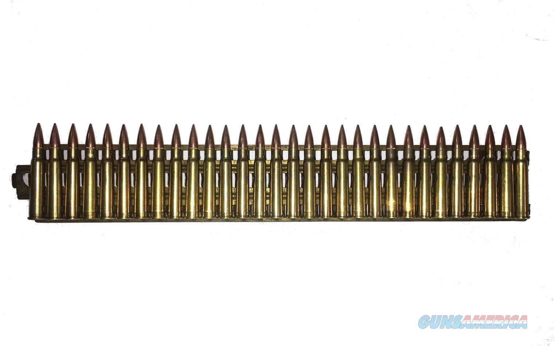 WWII Nambu Type 92 MG Feed Strip w/ 7.7 Jap Dummy Rounds Woodpecker Brass  Non-Guns > Ammunition