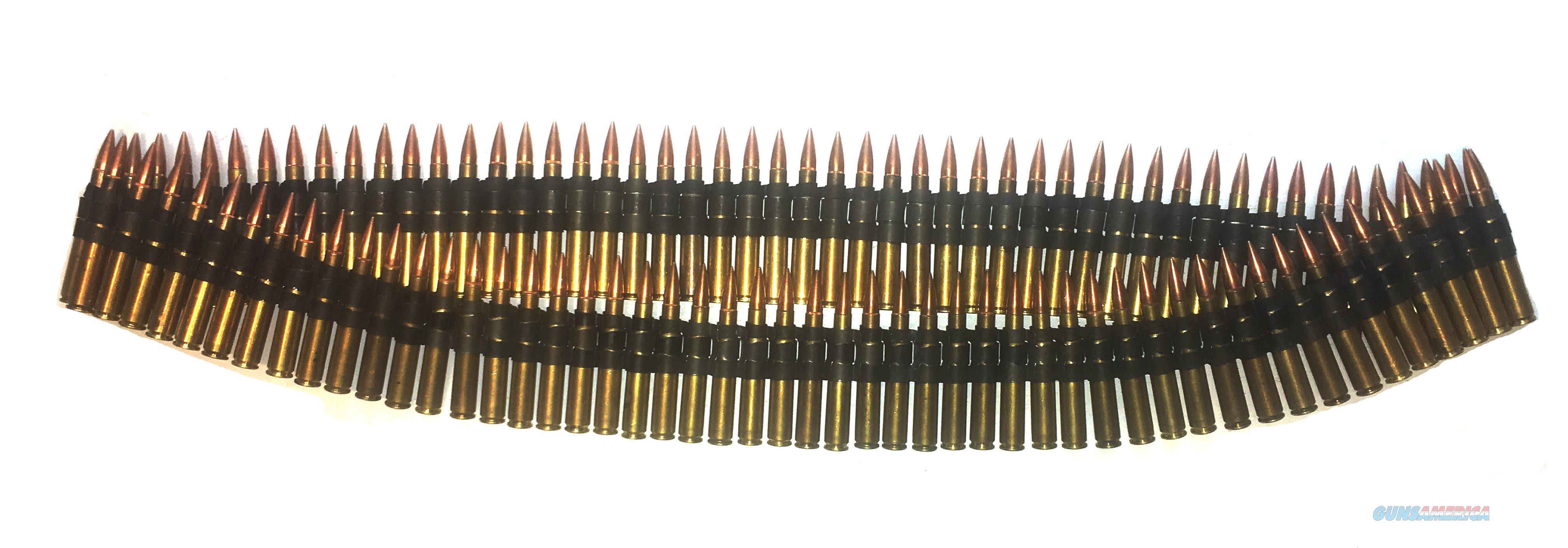 100rd Belt 30-06 Dummy Round Browning 1919 Links WWII  Non-Guns > Ammunition