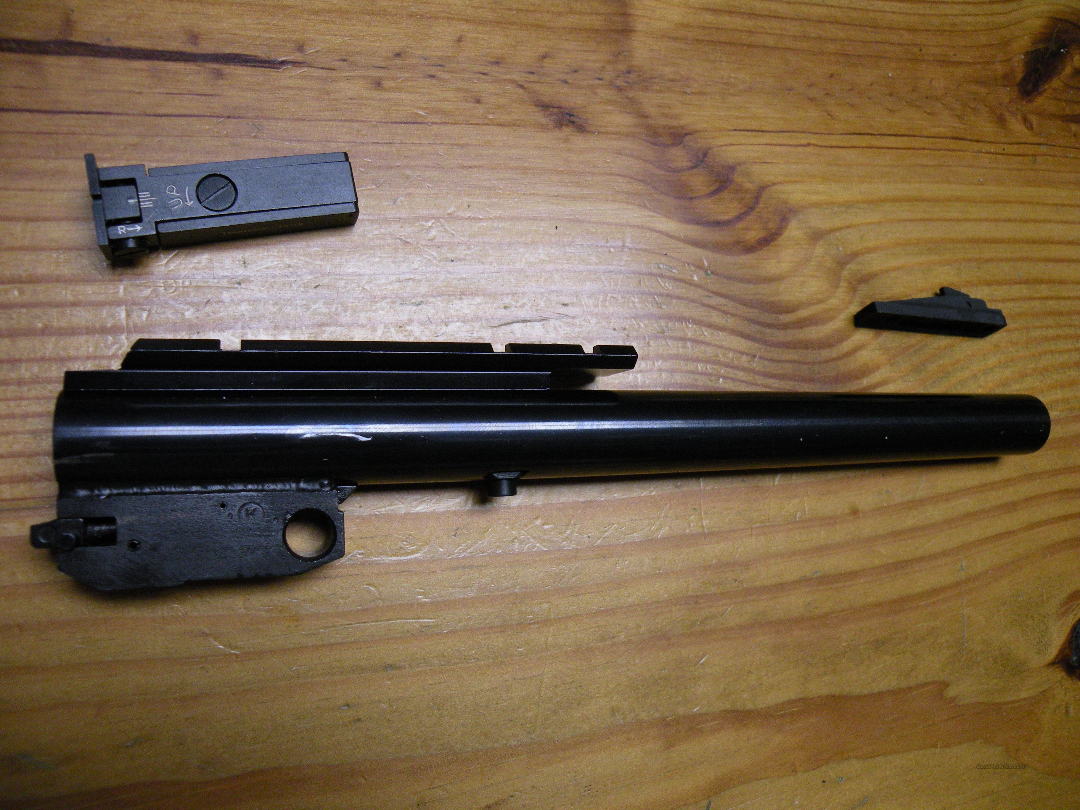 "TC Contender 10"" Bull Barrel, .22 mag  Non-Guns > Barrels"