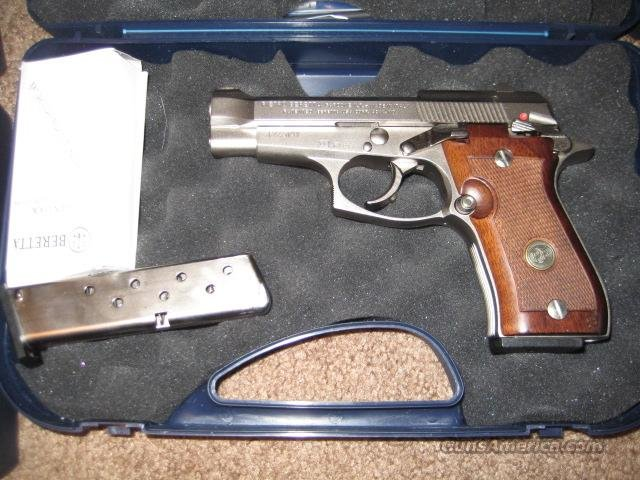 Beretta 85FS Cheetah NICKEL 380 Pistol  Guns > Pistols > Beretta Pistols > Small Caliber Tip Out