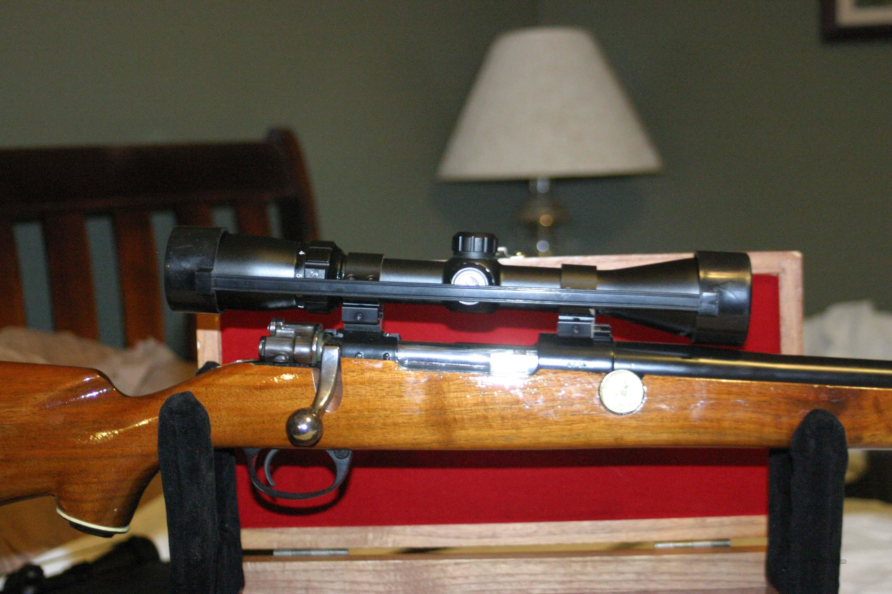 FN MAUSER WITH REBARREL TO 375 H&H SHILEN BARREL  Guns > Rifles > FNH - Fabrique Nationale (FN) Rifles > Bolt action > Hunting