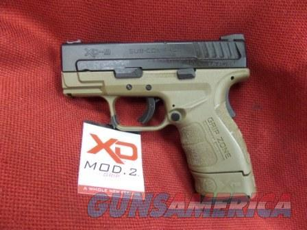Springfield XD-9 MOD.2 9mm FDE, 2mags 16&13rd   Guns > Pistols > Springfield Armory Pistols > XD (eXtreme Duty)