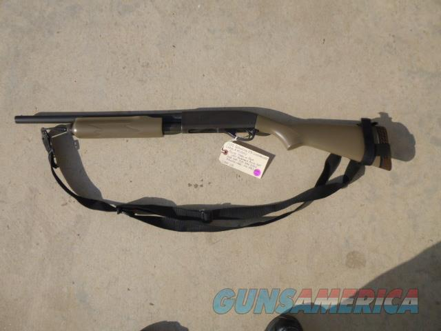 Used Remington 870 Wingmaster 12-gauge Pump Shotgun, Police Trade-In, Flat Dark Earth  Guns > Shotguns > Remington Shotguns  > Pump > Tactical