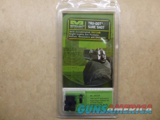 NEW Meprolight Adjustable Night Sights for Glock 17-19-20-21-22-23-34-35 CLOSE OUT DEAL  Non-Guns > Miscellaneous