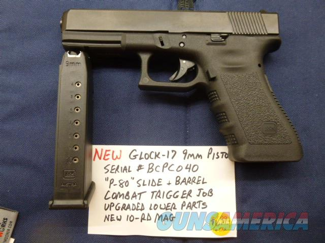 CALIFORNIA LEGAL Glock 17 Gen-3 with Upgraded Slide, 9mm, All New, 10-Rd Mag  Guns > Pistols > Glock Pistols > 17